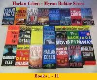 Harlan Coben - Myron Bolitar Series-Audio Books