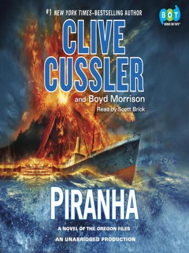 Clive Cussler-Piranha-Audio Book on Disc