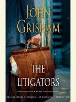 John Grisham - The Litigators - Audio Book on CD