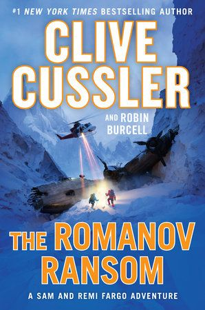 Clive Cussler-The Romanov Ransom-Audio Book on Disc