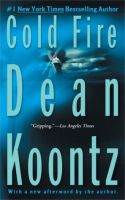Cold Fire-By Dean Koontz- MP3 Audio on Disc