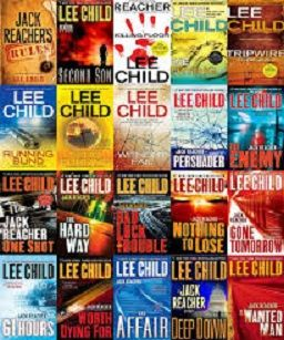 "JACK REACHER – ""Lee Child"" E Books 32 Titles"