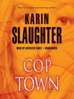 Karin Slaughter-Cop Town - Audio Book on CD